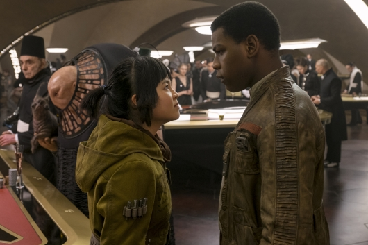 Star Wars The Last Jedi starring Kelly Marie Tran and John Boyega