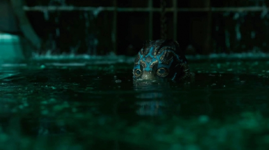 Movie Review: The Shape of Water, starring Doug Jones as the Creature