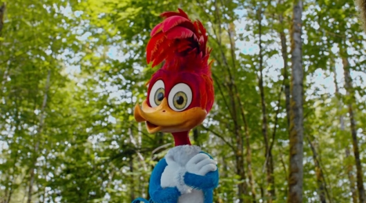 trailer for liveaction �woody woodpecker� movie released