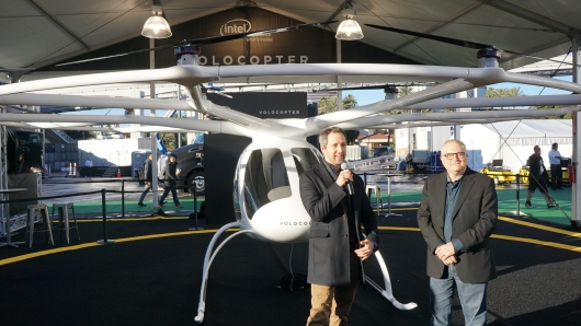 Volocopter CEO Florian Reuter