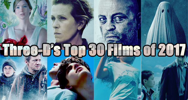 Top 30 Films Of 2017 Movies of 2017
