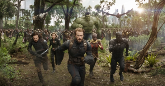 Avengers: Infinity War Movies Of 2018