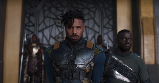 Black Panther Michael B. Jordan as Erik Killmonger