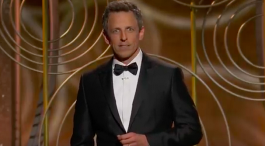 Golden Globes Seth Meyers