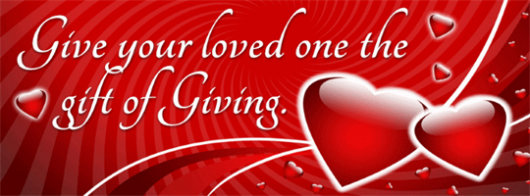 Valentine's Day CharityChoice Gift Cards