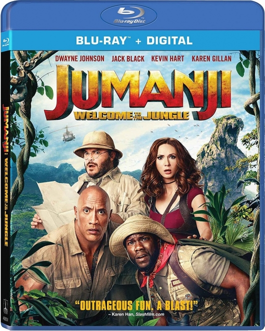 Jumanji: Welcome to the Jungle Cover Art