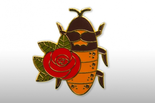 Name A Roach At The Zoo roach pin