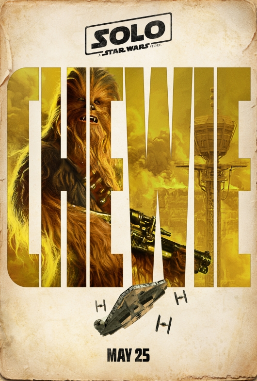 Solo: A Star Wars Story Chewbacca character poster