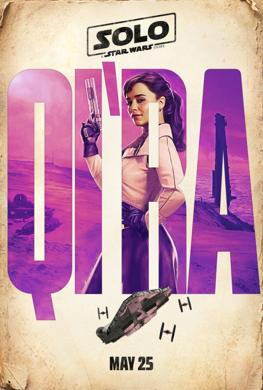 Solo: A Star Wars Story Qira character poster