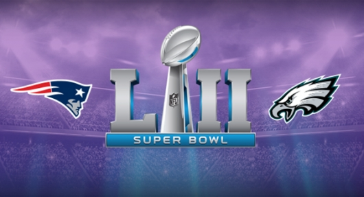 Super Bowl LII 2018 banner