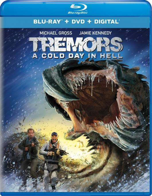 Tremors: A cold Day in Hell Blu-ray Cover