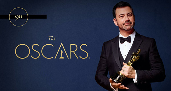 Oscars 2018 host Jimmy Kimmel
