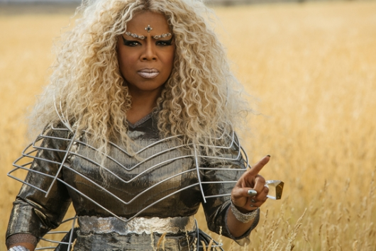 Movie Review: A Wrinkle in Time, starring Oprah Winfrey as Mrs. Which
