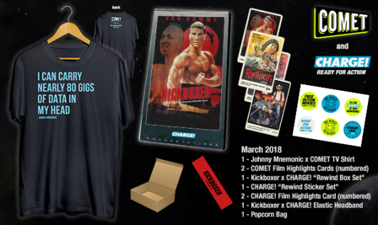 Comet TV & Charge March 2018 Prize Pack