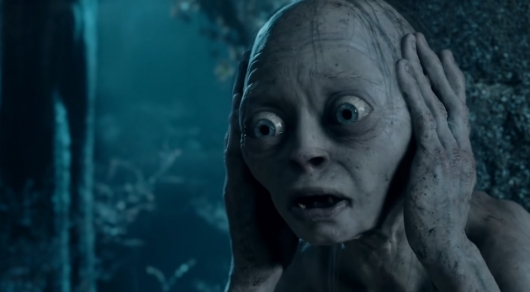 Gollum in The Lord of the Rings