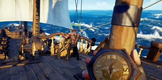 Sea of Thieves Sailing