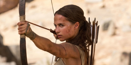 Tomb Raider junket header