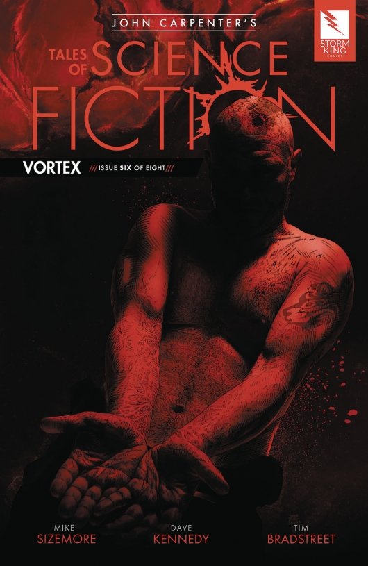 Tales of Science Fiction: Vortex #6 cover