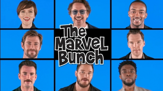 "Avengers: Infinity War Cast ""The Marvel Bunch"""