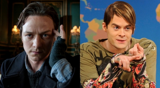 Bill Hader and James McAvoy in IT Chapter 2