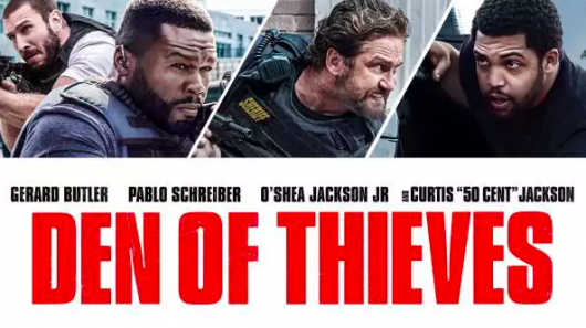 Den Of Thieves banner Ice Cube prize pack