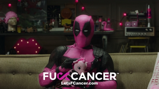 Fuck Cancer Deadpool