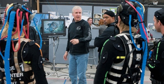 James Cameron directing Avatar