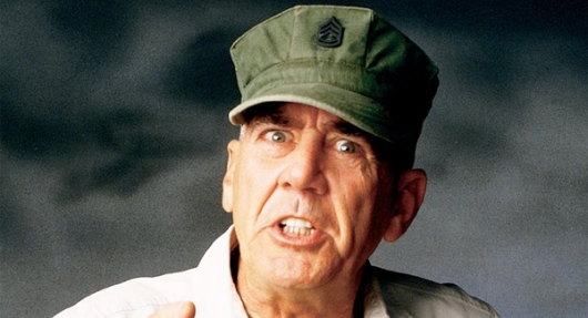 R. Lee Ermey Full Metal Jacket star