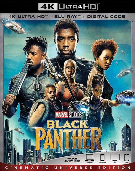 Black Panther 4K Cover