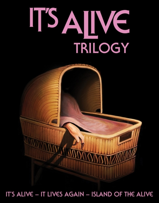 Blu-Ray Review: It's Alive Trilogy Cover Art