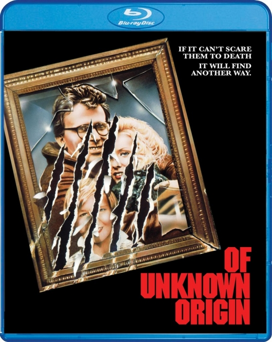 Of Unknown Origin Scream Factory Blu-Ray Cover Art