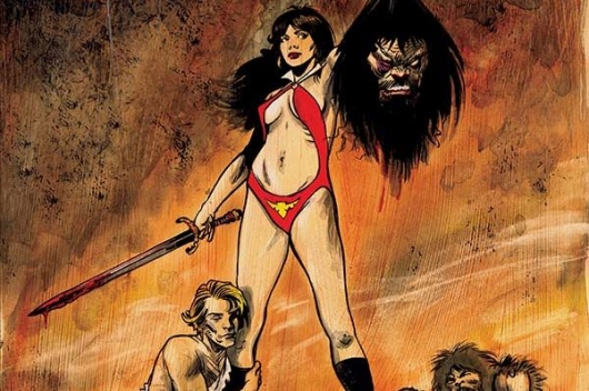 Savage Tales: Vampirella #1 header