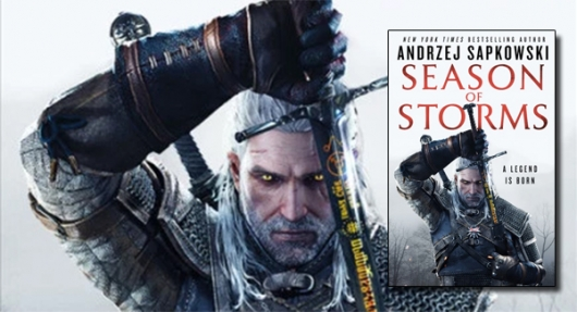 Season of Storms book banner Witcher series