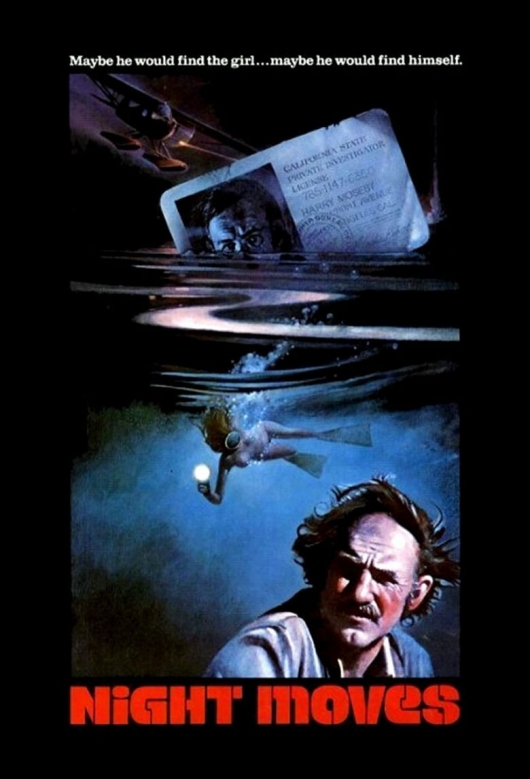 Night Moves (1975) movie poster
