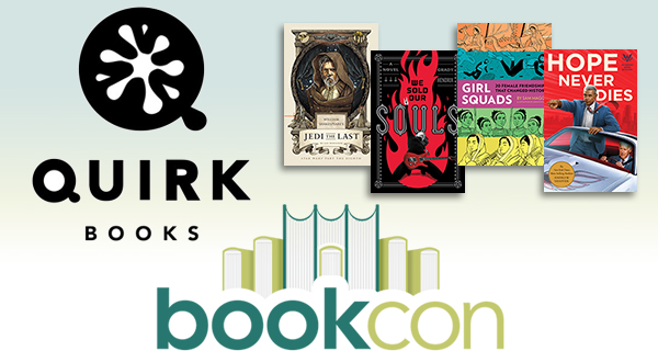 BookCon 2018: Quirk Books Spotlight