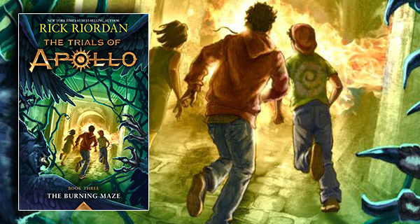 The Trials of Apollo, Book 3: The Burning Maze book review