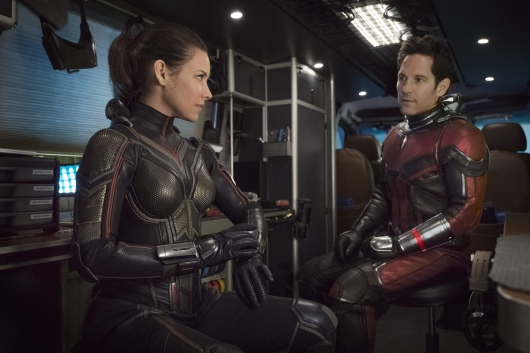 Ant-Man And The Wasp starring Evangeline Lilly And Paul Rudd