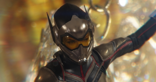 Evangeline Lilly as The Wasp in Ant-Man And The Wasp