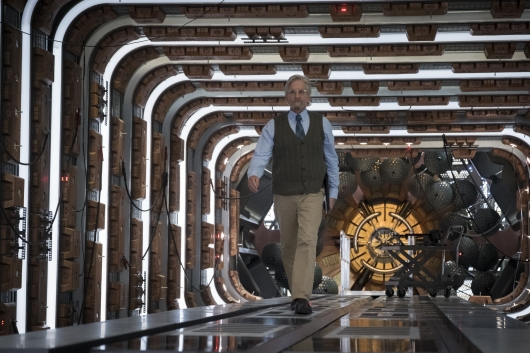 Michael Douglas as Hank Pym in Ant-Man And The Wasp
