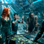 Aquaman starring Amber Heard, Jason Momoa, Willem DaFoe