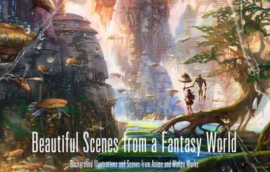 Beautiful Scenes from a Fantasy World Header