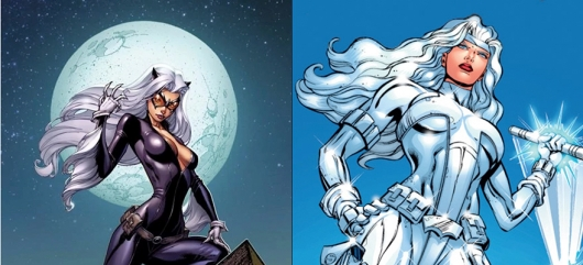 Silver and Black Black Cat and Silver Sable