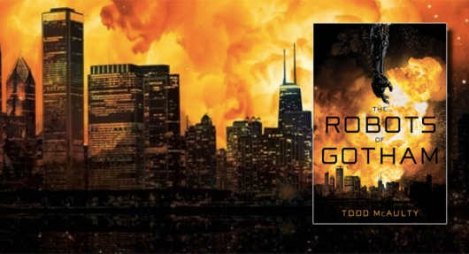 The Robots Of Gotham book cover banner