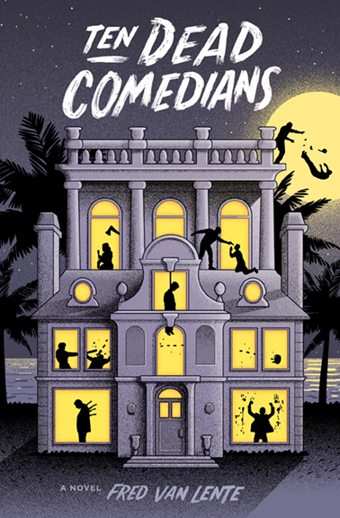 Ten Dead Comedians paperback edition cover