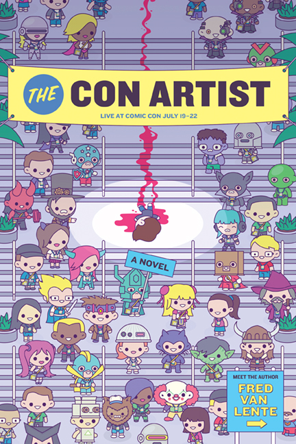 The Con Artist cover Fred Van Lente