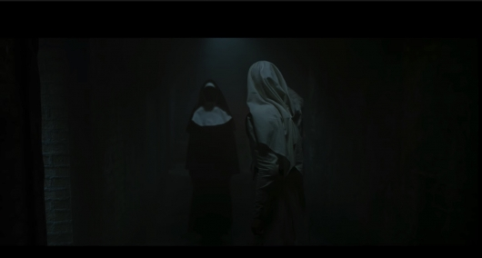 The Nun trailer header