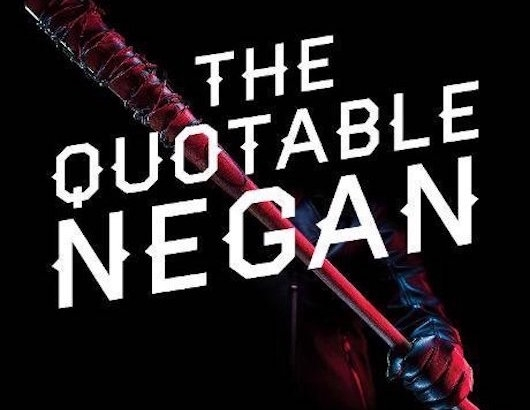 The Quotable Negan Header