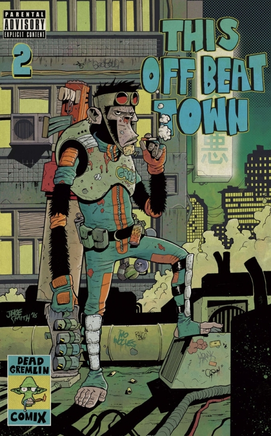 This Off Beat Town Issue Two Cover