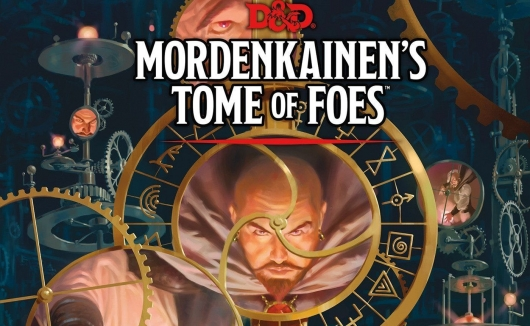 Dungeons & Dragons Mordenkainen's Tome Of Foes book header