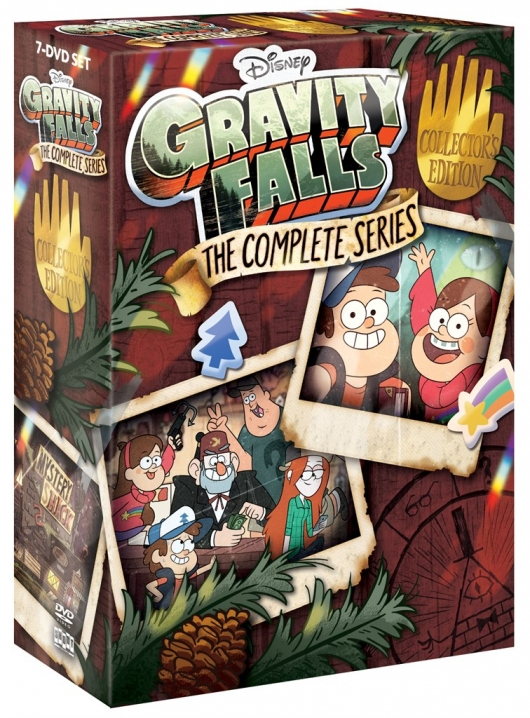 Gravity Falls: The Complete Series Cover Art